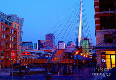 Denver Skyline Photograph - Denverscape Iv by Christine Zipps