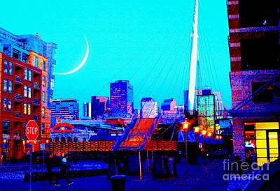 Photograph - Denverscape Xx - Paintograph by Christine S Zipps