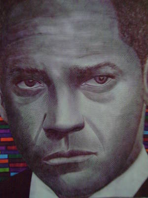 Denzel Washington Original by Odinel Pierre    junior