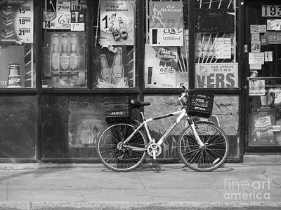 Photograph - Depanneur Bike by Reb Frost