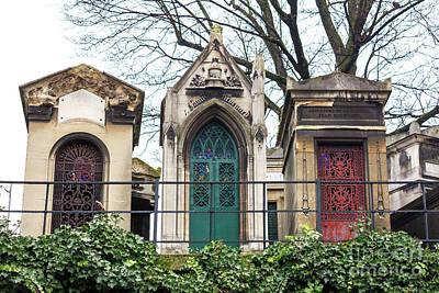 Photograph - Departed At Cimetiere De Montmartre Paris by John Rizzuto