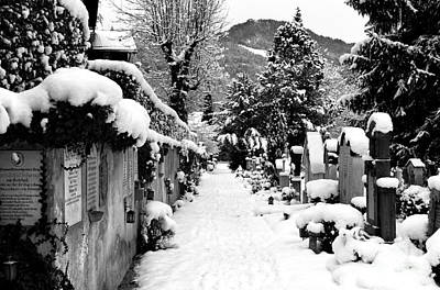 Photograph - Departed Path In Berchtesgaden by John Rizzuto