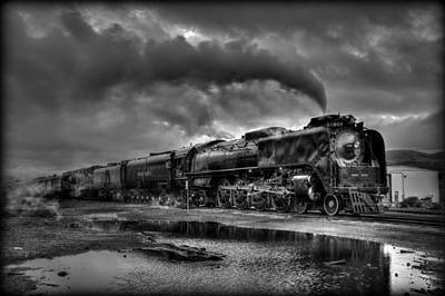 Union Pacific 844 Photograph - Departing Time by Michael Morse