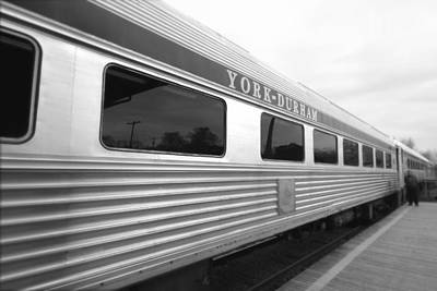 Photograph - Departing Train by Valentino Visentini