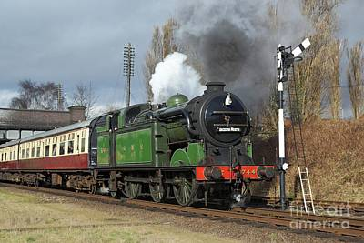Photograph - Departure From Loughborough by David Birchall