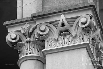 Depauw University East College Detail Art Print