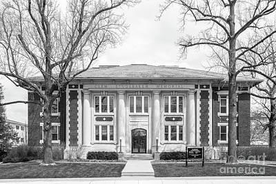 Photograph - Depauw University Studebaker Administration Building by University Icons