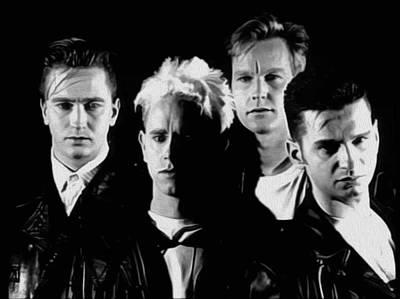Depeche Mode #16a By Nixo Art Print