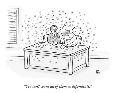 Drawing - Dependents by Paul Noth