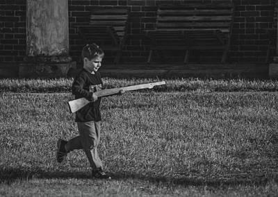 Photograph - Deploy The Guard Bw by Jeff at JSJ Photography