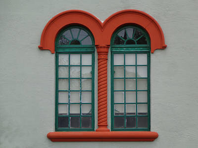 Photograph - Depot Window Five by Kathy K McClellan
