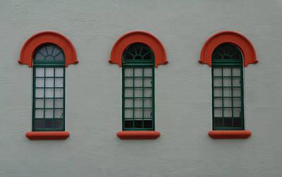 Photograph - Depot Window Six by Kathy K McClellan