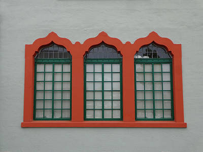 Photograph - Depot Window Three by Kathy K McClellan