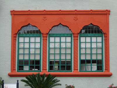 Photograph - Depot Window Two by Kathy K McClellan