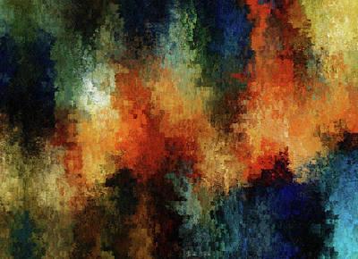 Abstract Digital Art Mixed Media - Depression Abstract  by Georgiana Romanovna