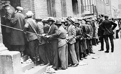 Photograph - Depression: Harlem, 1931 by Granger