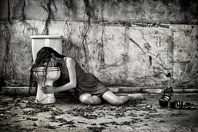 Depression Photograph - Depression by Joey Bangun