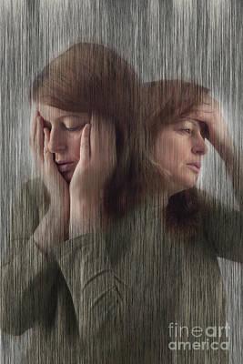 Depression, Stress, Headache Art Print