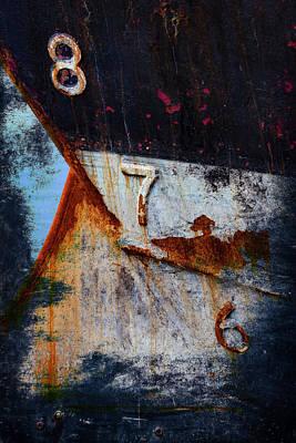 Shipyard Photograph - Depth Markers by Carol Leigh