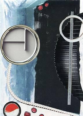 Depth Onto Space Art Print by Michal Mitak Mahgerefteh