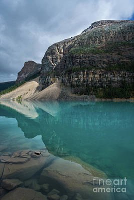 Photograph - Depths Of Lake Moraine by Mike Reid