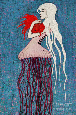 Mixed Media - Depths Of Love by Natalie Briney