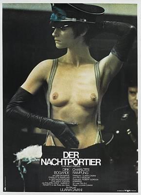 Scary Digital Art - Der Nachtportier by Fine Artist