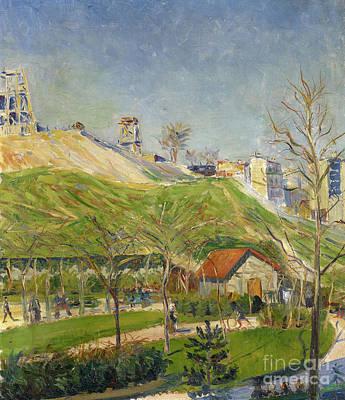 Painting - Der Square Saint Pierre by Paul Signac