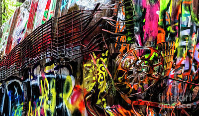 Photograph - Derailed Jungle by Brad Allen Fine Art