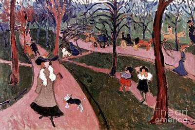 Derain: Hyde Park Art Print by Granger
