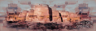 Painting - Derawar Fort  by Gull G