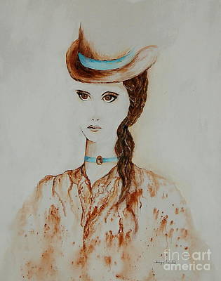 Painting - Derby Lady by Tamyra Crossley