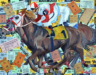 Derby Tickets Art Print by Michael Lee