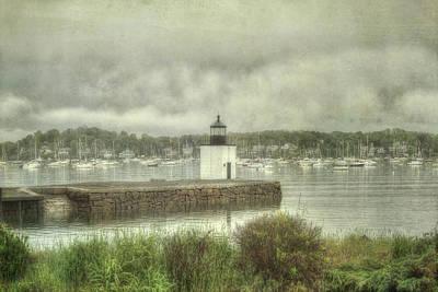 Photograph - Derby Wharf Light - Salem, Ma. by Joann Vitali