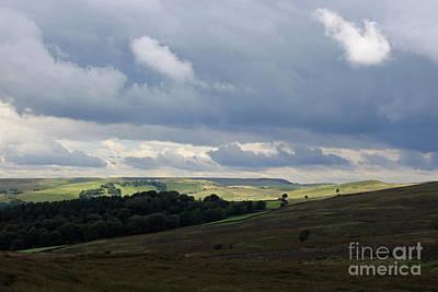 Photograph -  Derbyshire Landscape Peak District by Julia Gavin