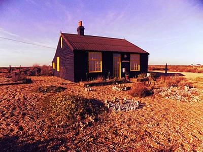 Derek Jarman Photograph - Derek Jarmans House by Rebecca  Wilbur