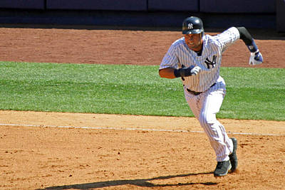 Derek Jeter Photograph - Derek Jeter by Mitch Cat