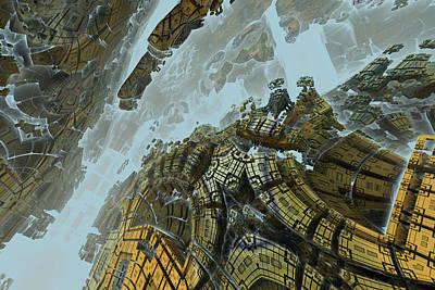Digital Art - Derelict Artifact by Sleepless Monk