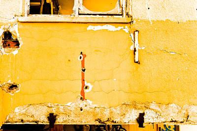 Derelict Building Wall Art Print
