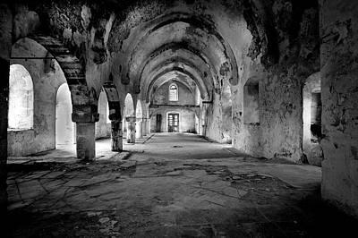 Derelict Cypriot Church. Art Print