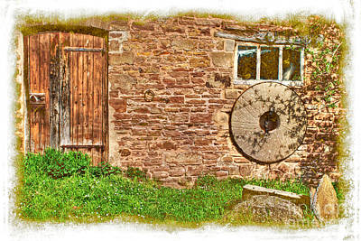 Photograph - Derelict Farmhouse by David Birchall