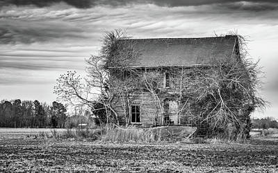 Photograph - Derelict Farmhouse by Framing Places