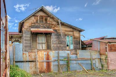 Photograph - Derelict Home by Nadia Sanowar