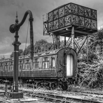 Photograph - Derelict Railroad Siding by David Birchall