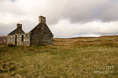 Scottish Landscape Photograph - Derelict  by Smart Aviation