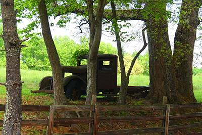 Photograph - Derelict Truck by Kathryn Meyer