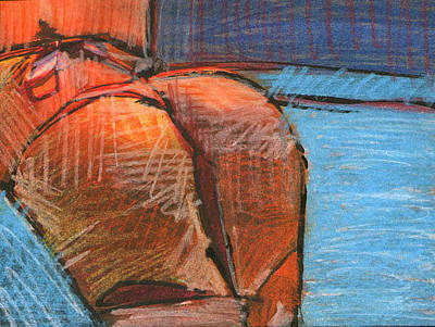 Figural Mixed Media - Derriere by Michal Rezanka