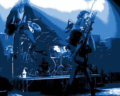 Photograph - Derringer 77 #19 Enhanced In Cosmic Blues by Ben Upham