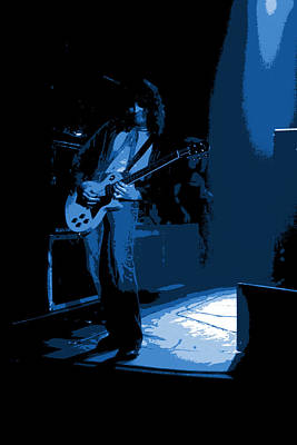 Photograph - Derringer 77 #28 Enhanced In Blue by Ben Upham