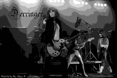 Photograph - Derringer 77 #38 Enhanced Bw With Text by Ben Upham
